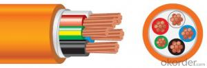 Circular Cables PVC 600/1000V 4C+E Copper /Orange cable as per  AS/NZS 5000.1