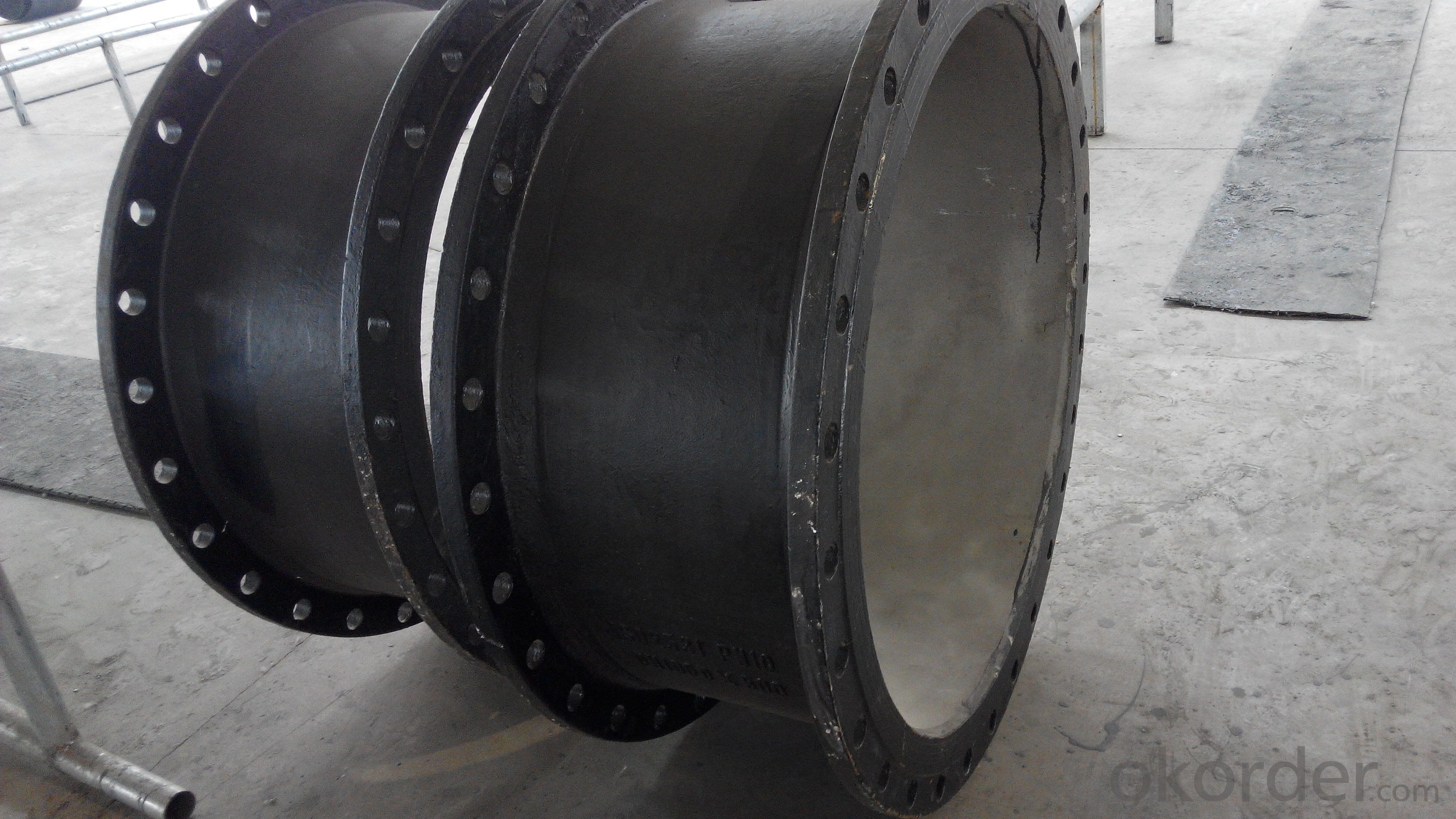 DOUBLE FLANGE PIPE WITH PUDDLE FITTINGS