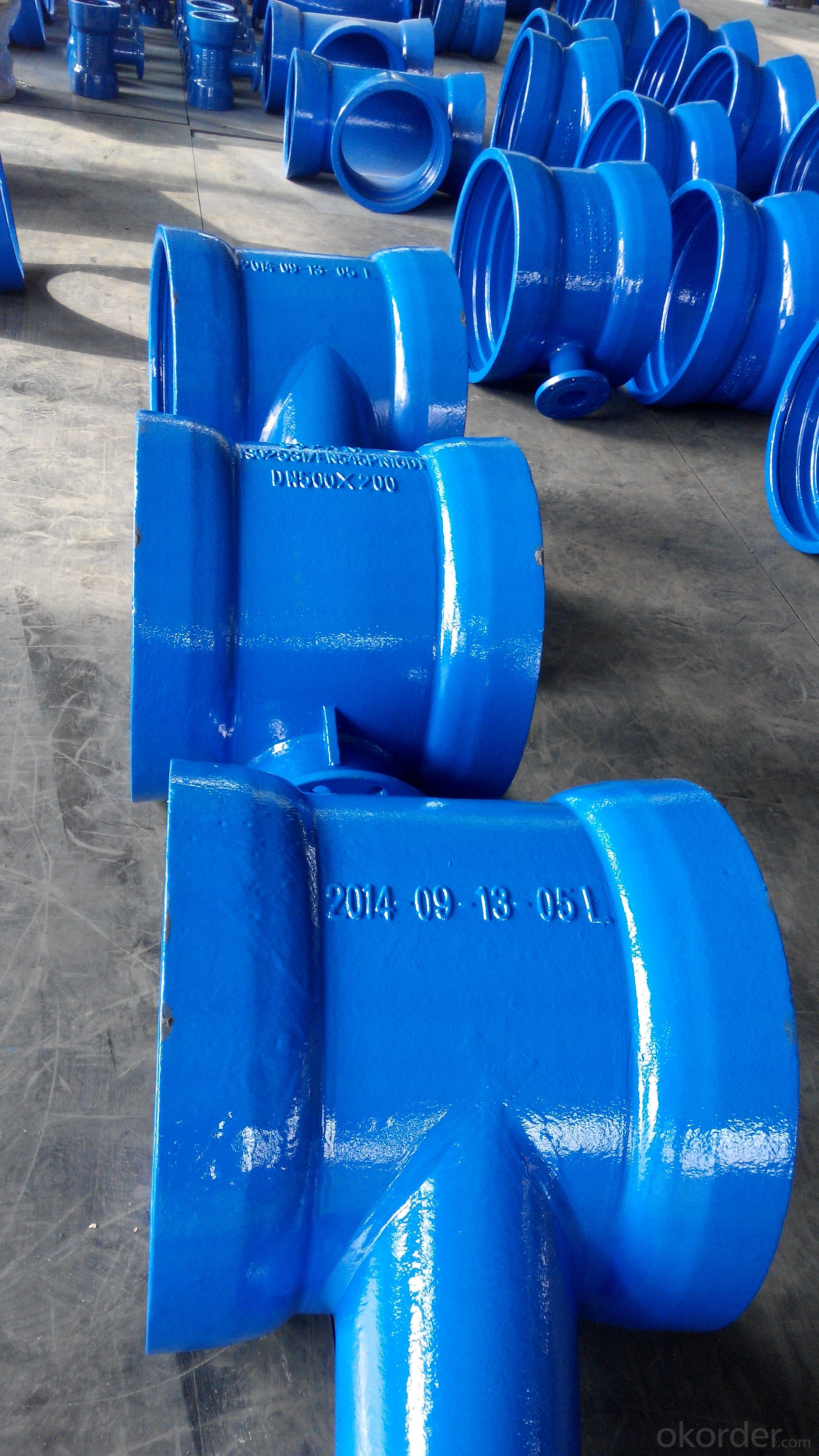 Ductile iron fittings  EN598