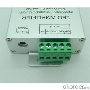 Aluminum  Shell 4 Circuit RGBW Amplifier