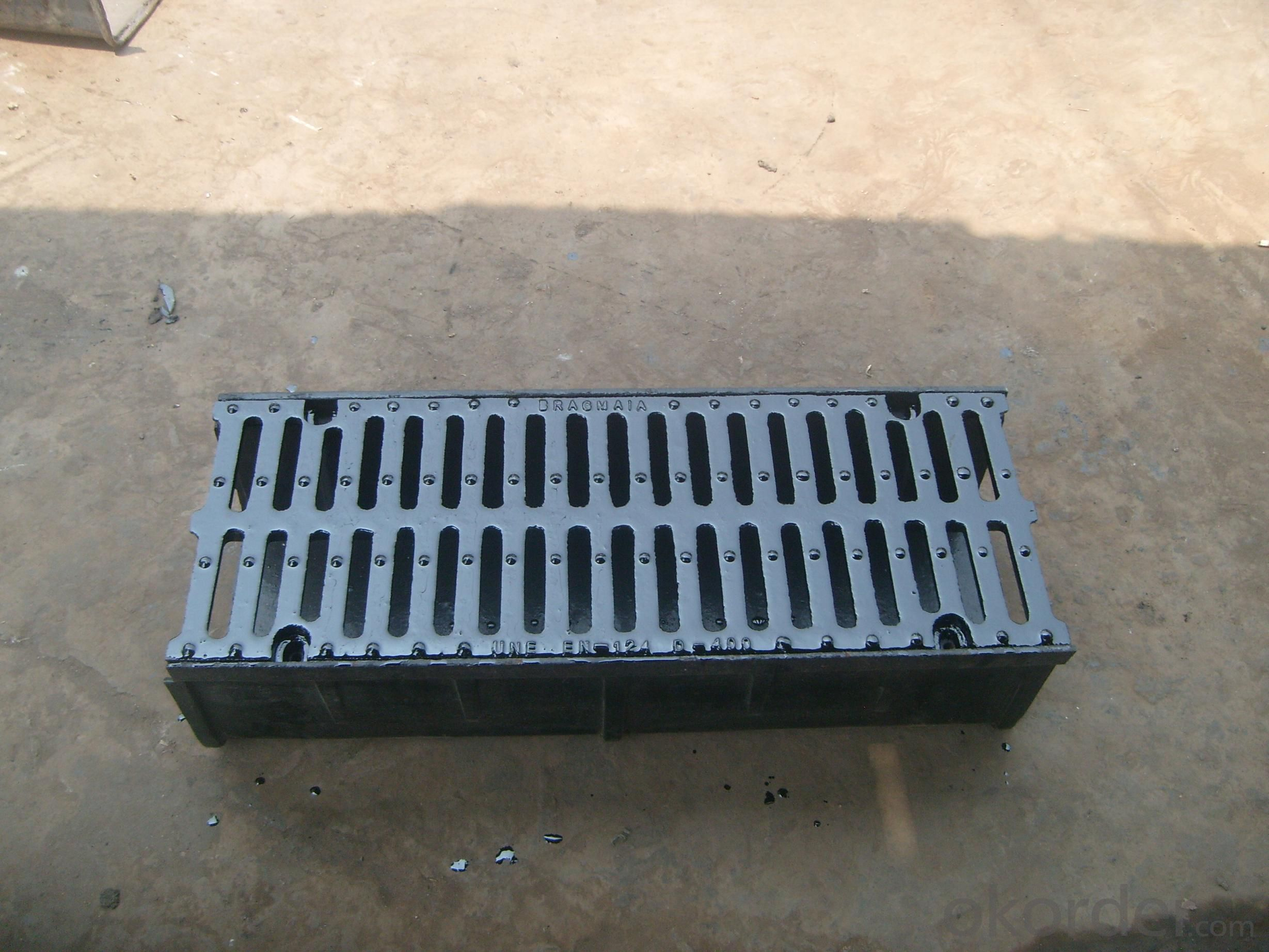Nodular cast iron groove perforated strainer