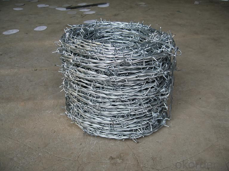High Quality Galvanized Barbed Wire Roll