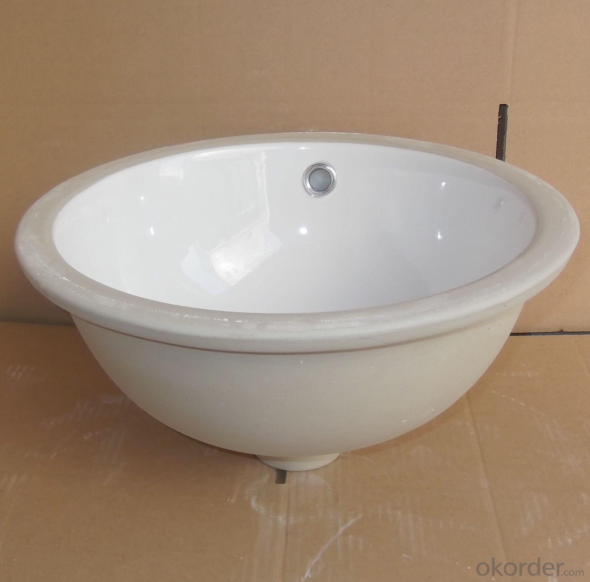 Circular 13-inch white ceramic pots audience
