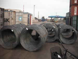 Hot Rolled Carbon  Steel Wire Rod Coil