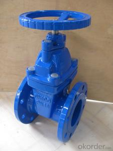 Rising Stem Solid Wedge Gate Valve DIN3352