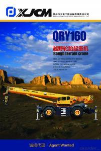 Rough terrain crane QRY160