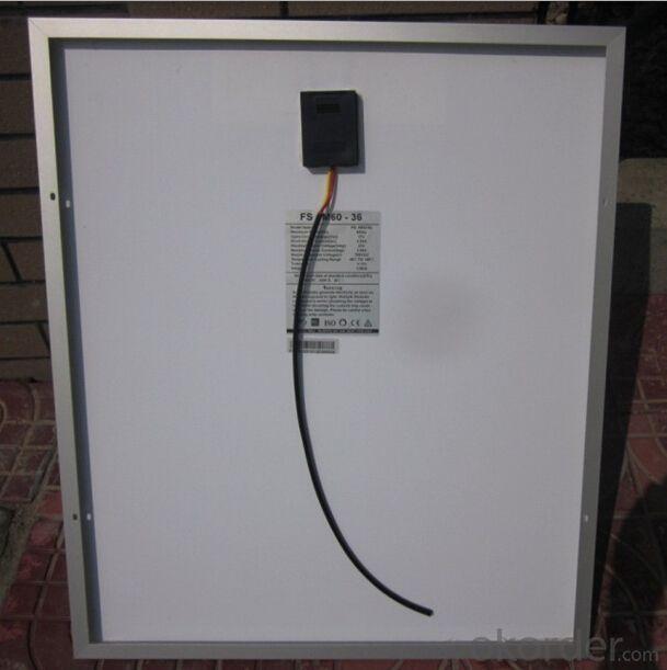 mono-crystalline silicon solar panel 50W