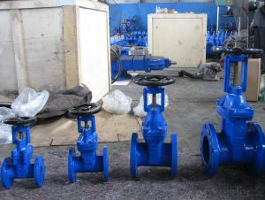 Non-rising Stem Resilient Seated Gate Valve US standard
