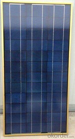 Poly-crystalline Silicon Solar Module 60W