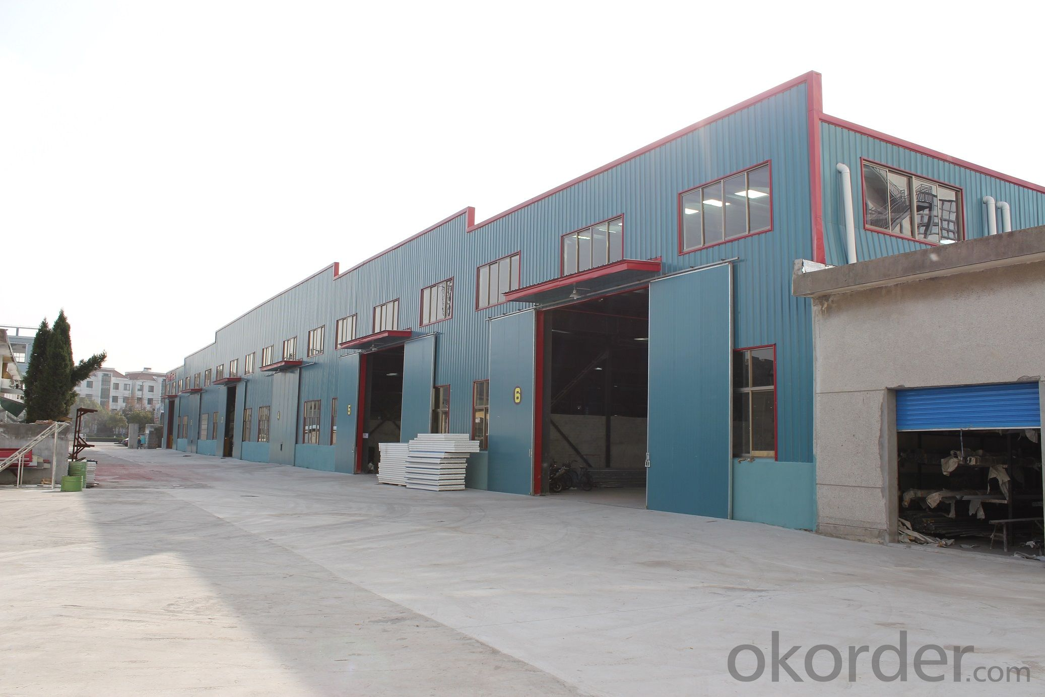 structural steel prefab warehouse