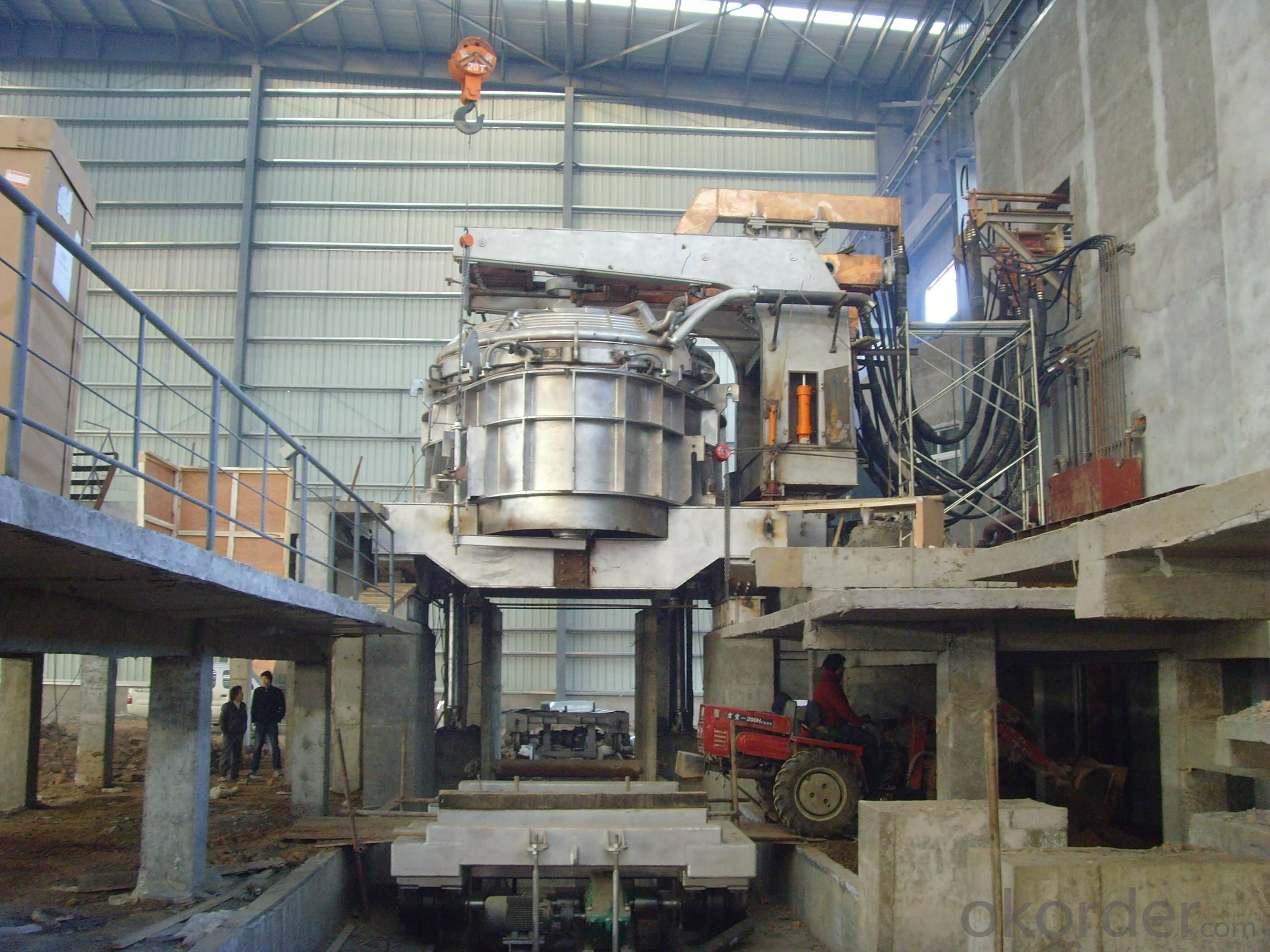 steel scrap melting 20t Electric Arc Furnace/tilting furnace
