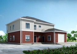Delin Prefabricated House G+1 House 366.04 Sqm-14