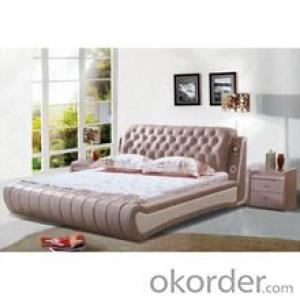 Hot-selling leather bed frame queen size pu bed