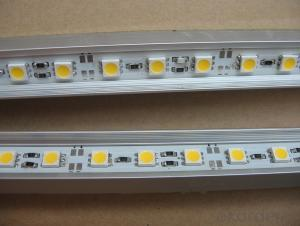 SMD5050 led rigid bar,rigid led strip,led rigid strip light with CE RoHS approve