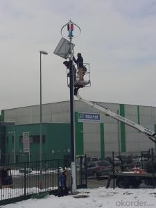 Maglev Wind Power Solar Wind Powered Street Lights