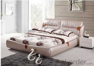 CHINA NEW PRODUCT ROOM FURINITURE PU BED
