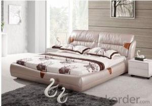 High quality leather bed