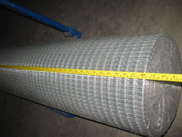 Hot Dipped Galvanized Before Welded Mesh