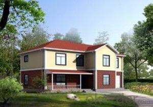 Delin Prefabricated House G+1 House 282.7 Sqm-16