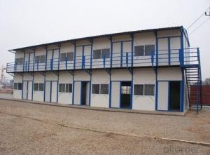 Double prefabricated houses, sandwich panels mobile homes