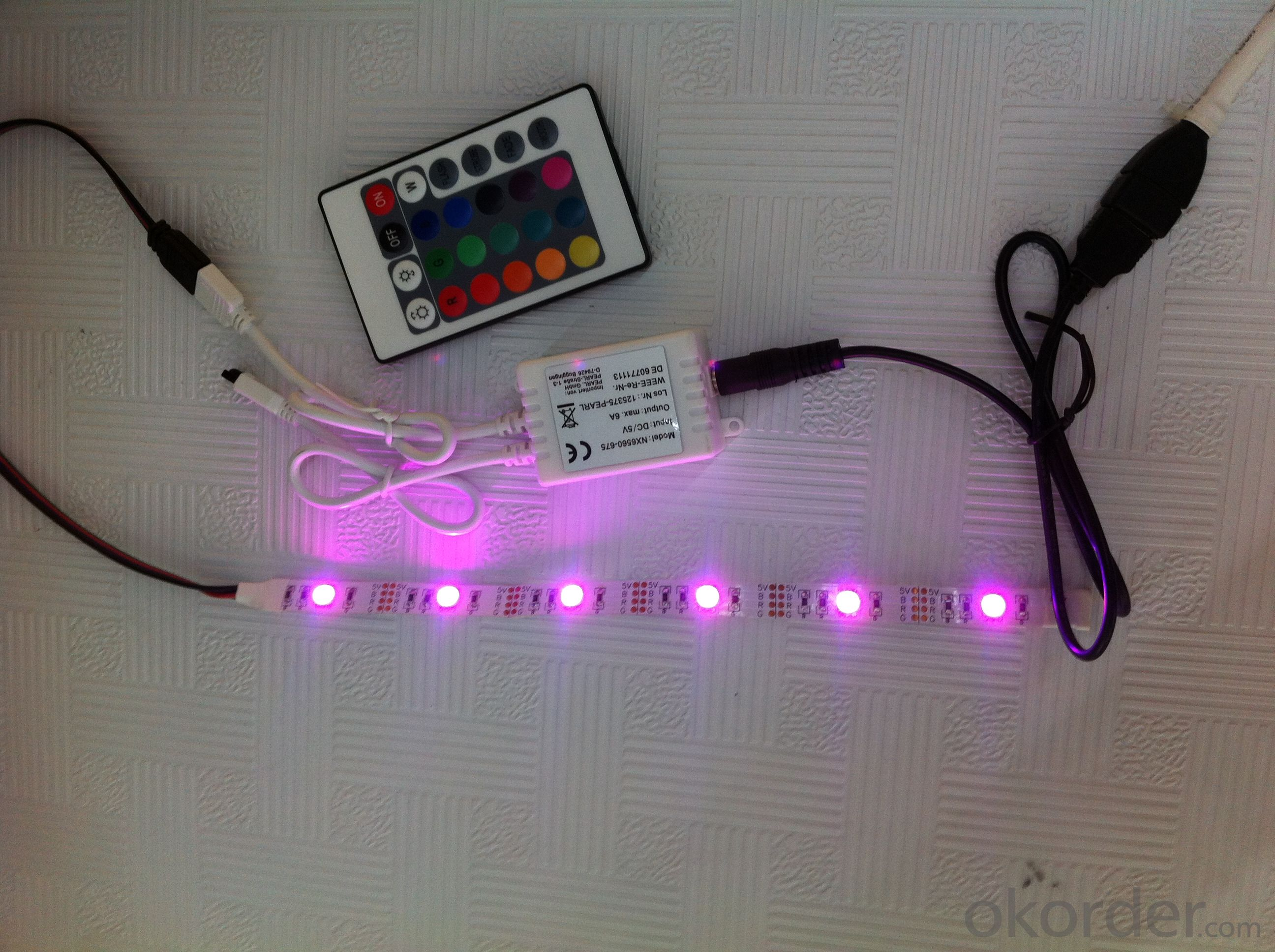 New style decoration ideas usb led light with RGB controller