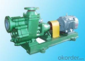 FZB self-priming pump type fluorine plastic alloy