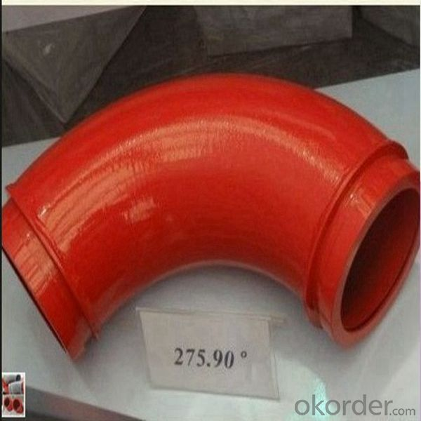 Wear Resistant Concrete Pump Delivery Pipe Elbow/Pipe Bend