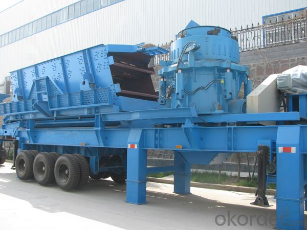 PP250SMHS cone crushing and screening plant