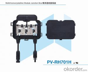 Unpotting Junction Box for Solar ModulePV-RH701H