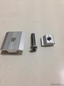 Solar mounting bracket Center clamp Middle clamp A059#