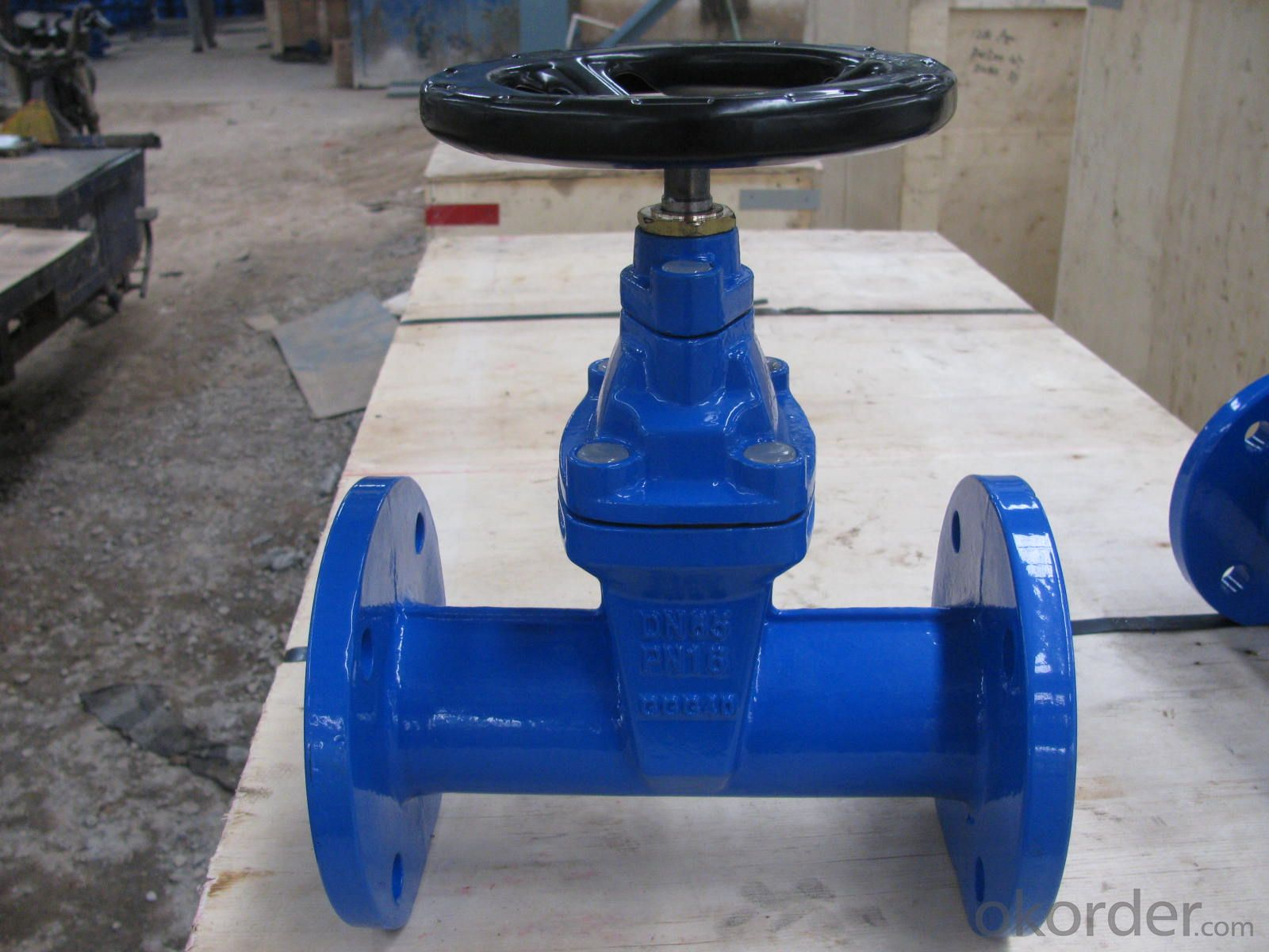 Non-rising Stem Resilient Seated Gate Valve DN150