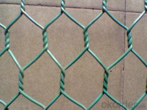 PVC Galvanized Hexagonal Wire Mesh