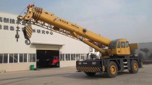Rough terrain crane QRY80