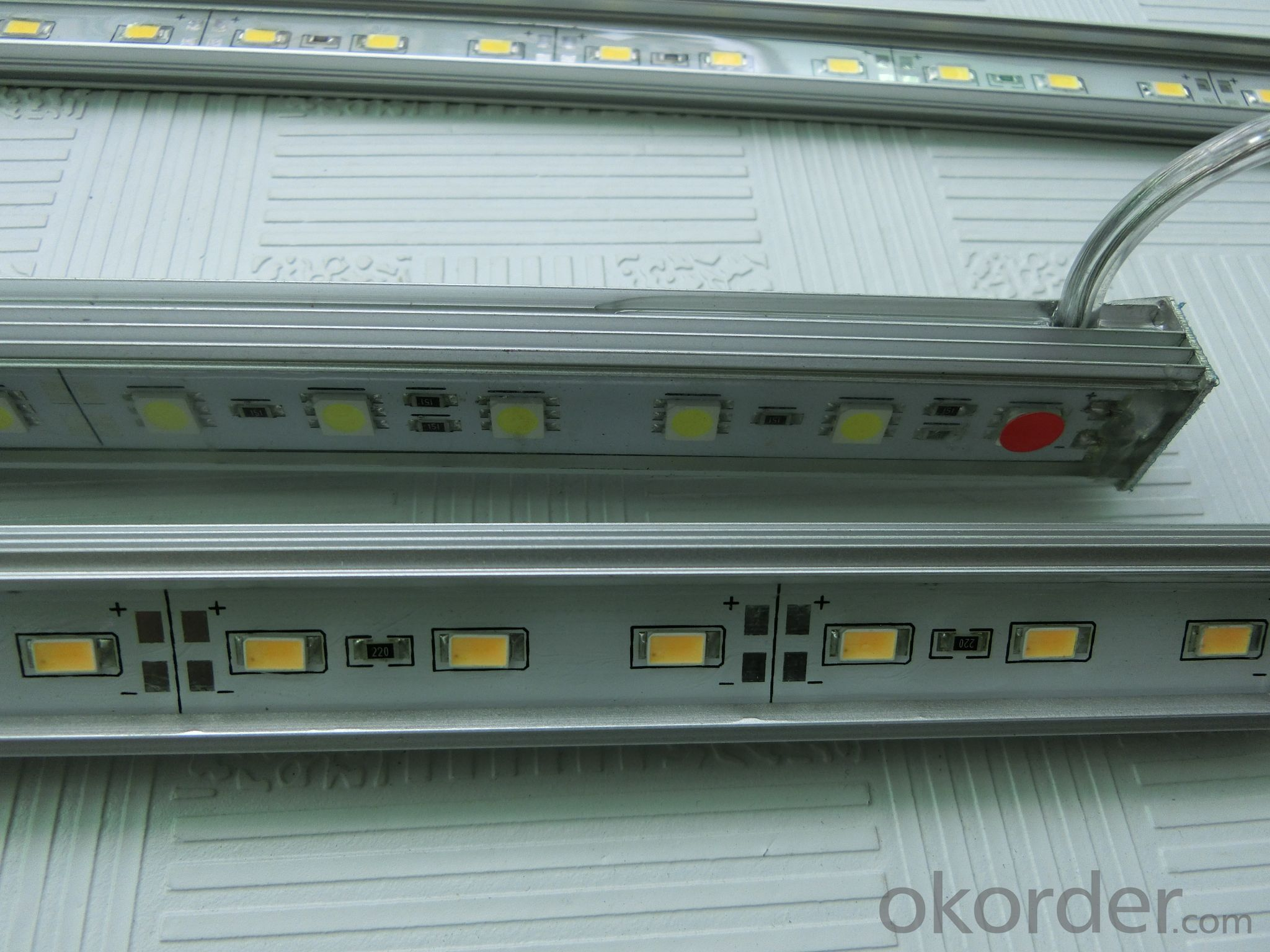 High quality  60leds/m  SMD5630 led bar light with CE RoHS