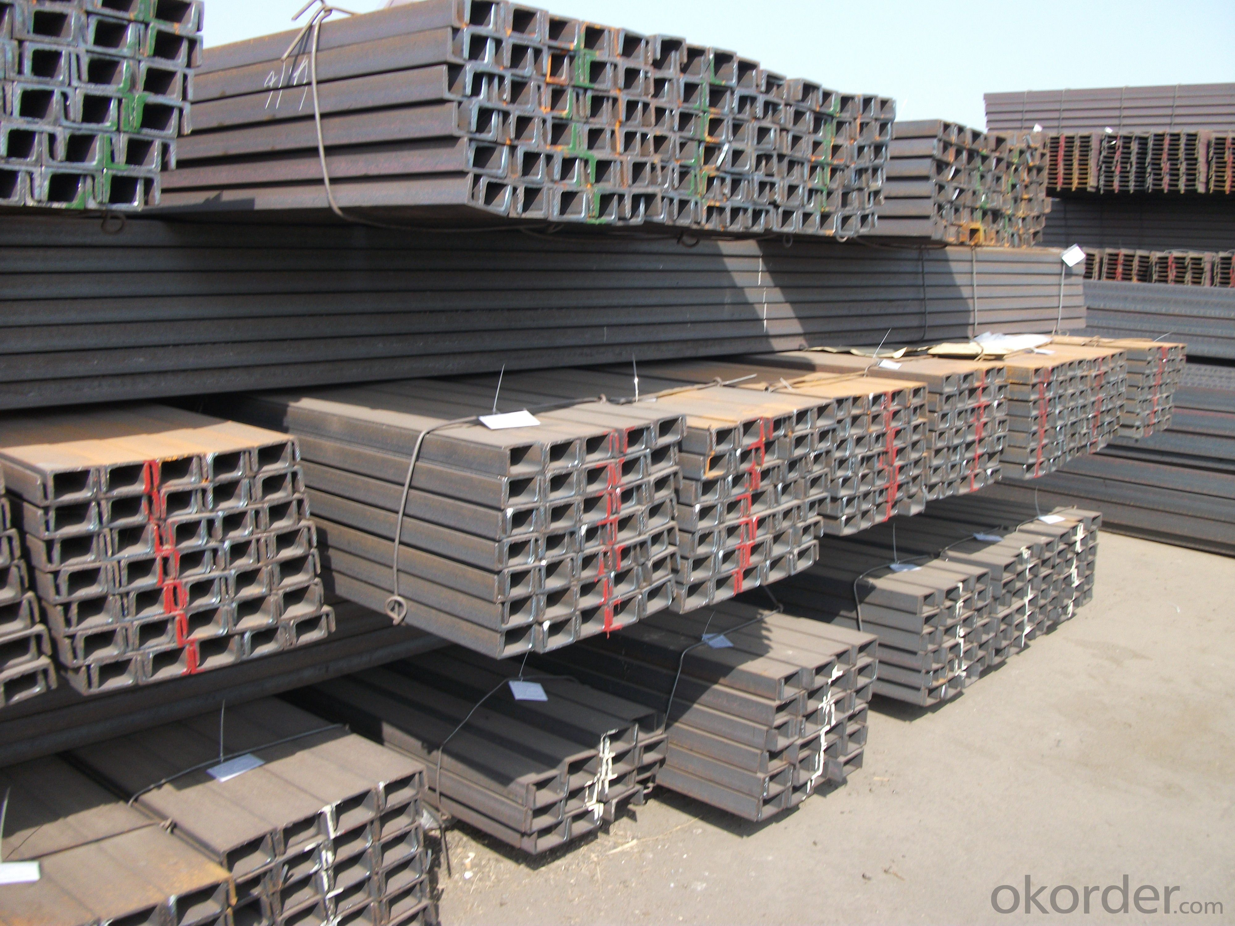 Hot Rolled U-channel  Steel Many Standards High Quality