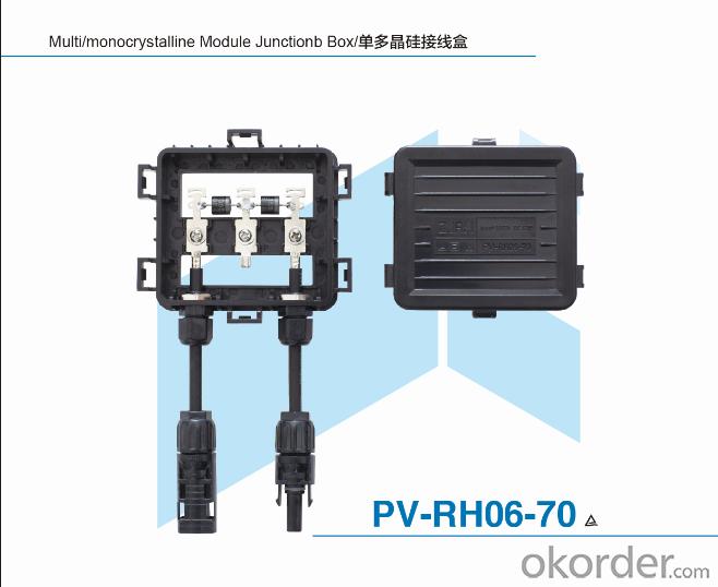 Unpotting Junction Box for Solar Module PV-RH06-70