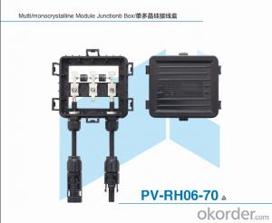 Unpotting Junction Box for Solar Module PV-RH06-70