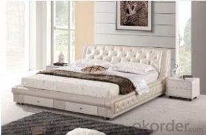 Factory Offer Low Price popular style soft PU bed