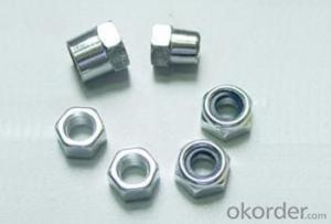 China hex bolts and nut