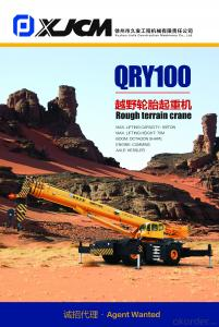 Rough terrain crane QRY100