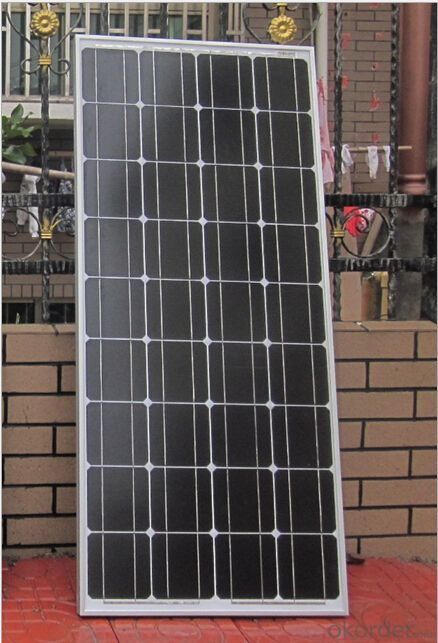 Mono-crystalline Solar Modules & Panels 100W