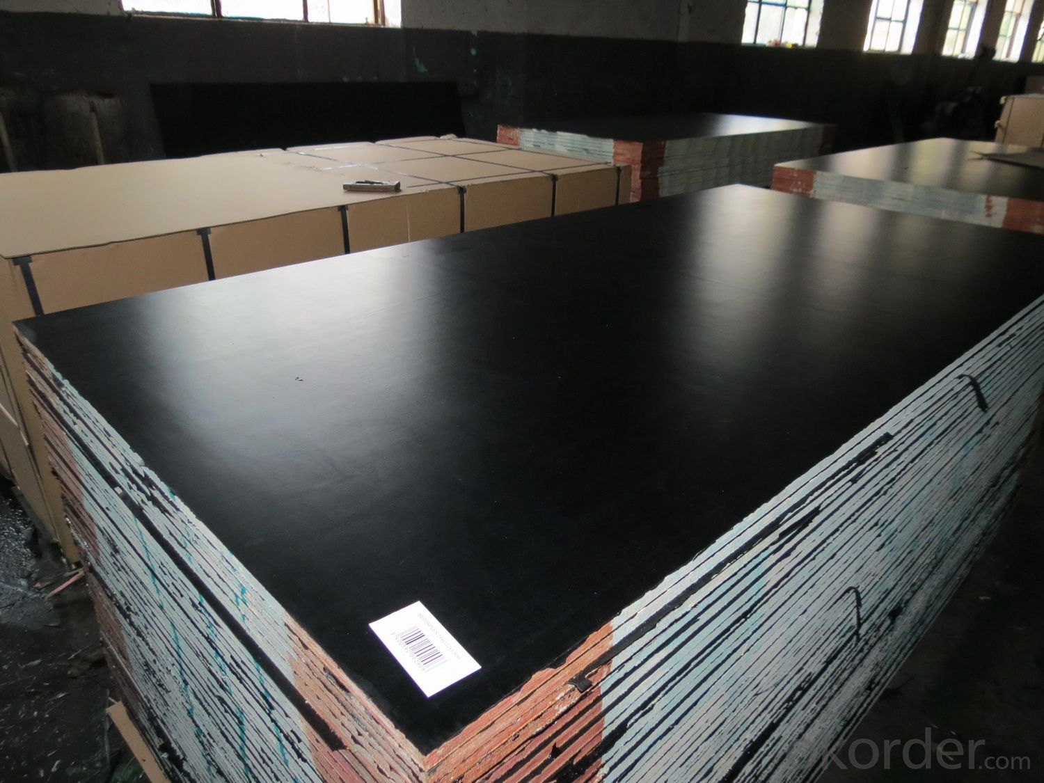 Film Faced Plywood (Black,Formwork)