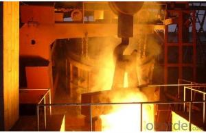 stainless steel electric arc furnace/EAF/mini arc furnace 1.5MT