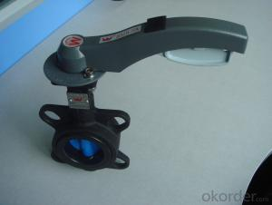 Concentric Butterfly Valve ISO5211