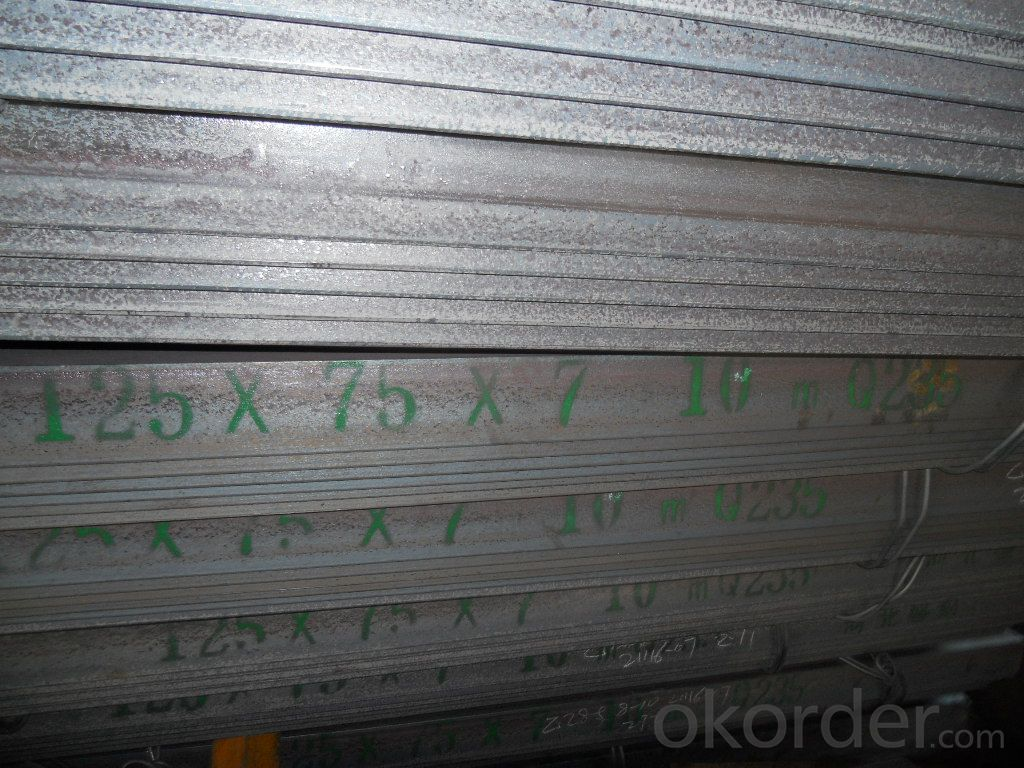 Hot Rolled Steel Equal Angle Bar Different Sizes