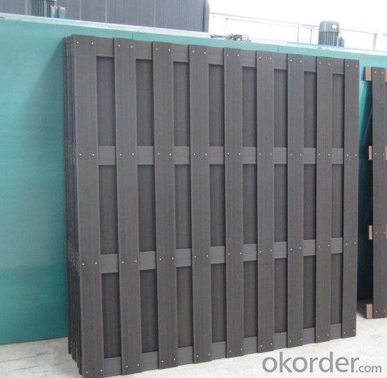 Wooden Plastic High Quality Strong Fence
