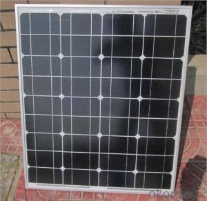 Monocrystalline Silicon Solar Module 50W