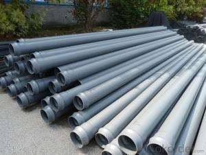 DN50mm PVC Pipe for water supply China manufacturer