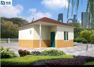 one floor cement house