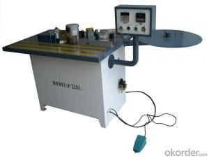 PVC edge banding machine with high qualitity